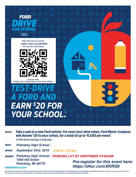 Ford Drive 4 Your School Flyer